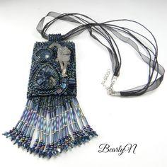 Pendentif de style amérindien The FairGame, loup et Pietersite Marvin, Style, Jewelry Collection, Wolves, Pendant, Swag, Outfits