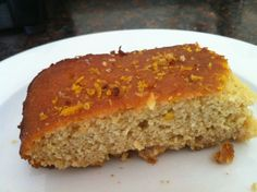 Paleo Orange Cake  @Living Healthy With Chocolate