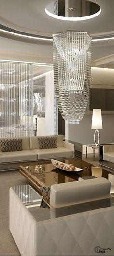 Luxury living room furniture. #interiordesignideas #trendsdesign http://www.bykoket.com/inspirations/all-inspirations/living-room-trends-2016