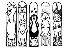 Diy And Crafts, Crafts For Kids, Diy Bookmarks, Art Pages, Digital Stamps, Preschool Activities, Coloring Pages, Printables, Professor