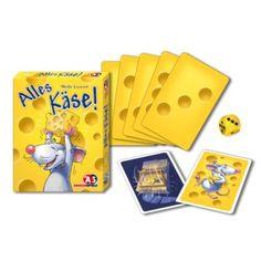 Sajtvadászat - Alles käse - családi logikai társasjáték 6 éves kortól - Abacusspiele