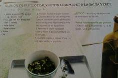 Saumon salsa verde