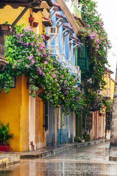 Alrededor de la Ciudad Amurallada de Cartagena, Colombia Murcia, Travel Around The World, Around The Worlds, Colombia Travel, Abandoned Castles, Colorful Garden, Travel Aesthetic, Travel List, Perfect Place