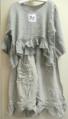 DRESS with BLOOMERS can make with 100% COTTONS and 100% drawstrings for BLOOMERS. ROOMY to wear for allergen sufferers to all fabrics except 100% cotton only am able to wear and oversized.