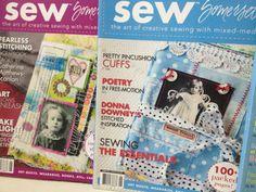 Sew Somerset Magazines  Artful Blogging  by VintageMarketPlace, $12.00