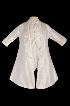 Prince Philip Silk Christening Suit - Click Image to Close