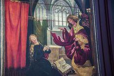 """Matthias Grünewald - """"Isenheim Altarpiece - Annunciation"""""""