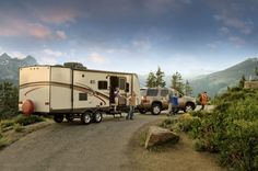 RV Camping-Travel Trailer Camping