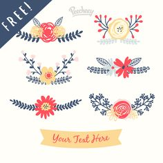 The September Bundle is Here + 6 Free Floral Elements! - Free Pretty Things For You