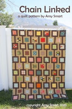 PATTERN Chain Linked quilt
