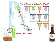 Plan de Table Mariage CRU D'AMOUR Thème FRANCE  http://www.kellygraphic.net/plan-de-tables-mariage/france  #wedding #plandetable #plantables #mariage #france #décoration #fairepart #savethedate #plandetable #original #amour #exagone #français #gaulois #french #paname