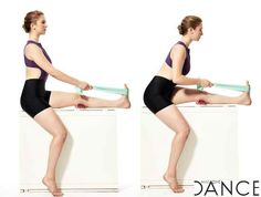 Tips for stretching for hyperextended knees