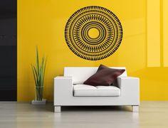 Wall Room Decor Art Vinyl Sticker Mural Decal Ornament Mandala Circle Big AS2956 #3M