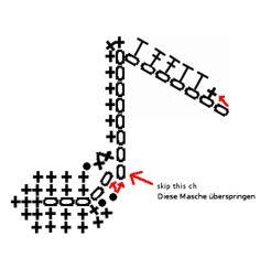 <!--:de-->Gehäkelte Achtelnote, kostenloses Häkelmuster - crochet quaver free stitch pattern<!--:-->