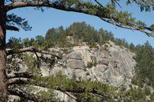 San Jacinto Mountains in the San Bernardino National Forest