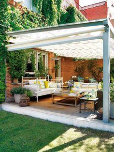 elegant retractable awning