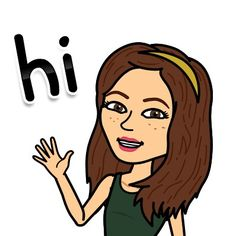 Hey everybody! You should download this app called Bit Moji! Its awesome!