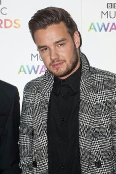 Liam at the 2014 BBC Music Awards