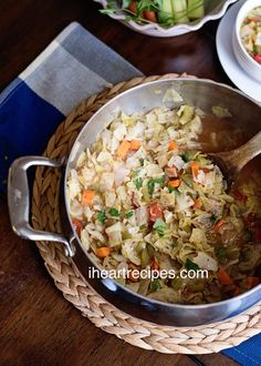 Original cabbage soup diet recipe for weight loss. Does that cabbage soup diet work?