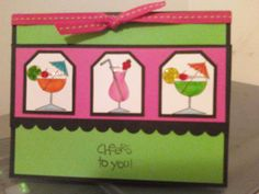 """Cheers to you"" Stampin Up! Set"