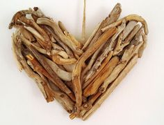 valentines day gifts drift wood heart