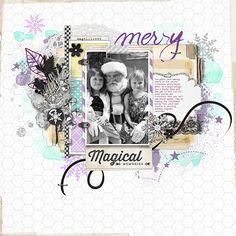magical memories #scrapbook #designerdigitals
