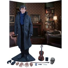 Sherlock TV Series Sherlock Holmes 1:6 Scale Action Figure $249.99