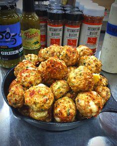 STUFFED MEATBALLS on Pinterest | Stuffed Turkey, Ground Chicken ...