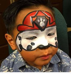 Boys Like, Paw Patrol, Carnival, Face, Painting, Pintura, Painting Art, Paintings, Faces
