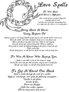 - free Book of Shadows pages to save or print - Section Two lost love spells south africa Wicca Love Spell, Love Spells, Witch Spell, Wicca Witchcraft, Magick Spells, Wiccan Books, Hoodoo Spells, Witchcraft Spells For Beginners, Witch Board