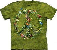 Békesség az esőerdőben póló