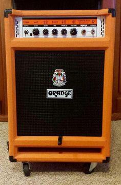Orange Terror Bass BT500C 2013 Orange 2x12 Isobaric Amp   Reverb