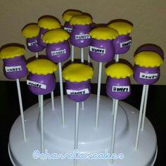 Honey Cakepops for Pooh