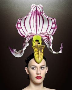 Philip Treacy  Hats by Chuck Bogana, via Behance