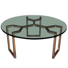 Model of Jean Royere Coffee Table, 1960 | From a unique collection of antique and modern coffee and cocktail tables at http://www.1stdibs.com/furniture/tables/coffee-tables-cocktail-tables/