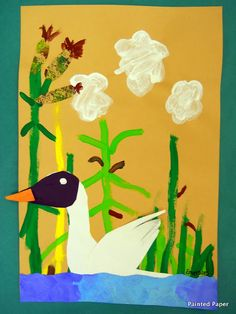 The ugly duckling mixed media projects