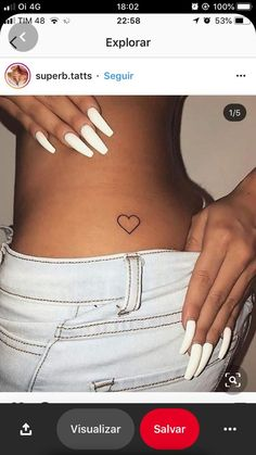 tiny tattoos for girls are available on our web pages. Read more and you will not be sorry you did. Love Heart Tattoo, Red Heart Tattoos, Small Heart Tattoos, Bum Tattoo Women, Hip Tattoos Women, Little Tattoos, Mini Tattoos, Piercing Tattoo, Piercings
