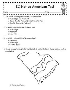 South Carolina Regions Test | Assessment, Student and The o'jays