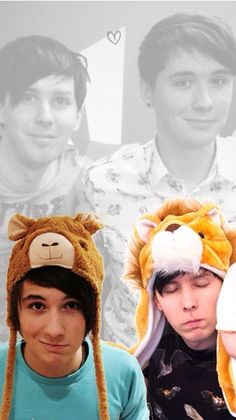 Wallpaper of Dan and Phil ❤️❤️❤️❤️ (currently my lock screen)