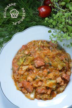 Polish Recipes, Polish Food, Chana Masala, Nom Nom, Curry, Food And Drink, Veggies, Cooking Recipes, Yummy Food