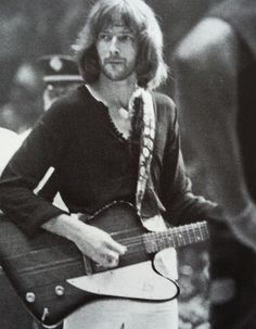 Eric Clapton with Blind Faith, 1969. (Credit: Tom Lucas)