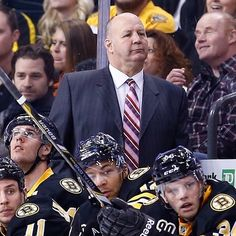 The B's earn a victory in Head Coach Claude Julien's game behind the Boston bench at TD Garden vs the Winnipeg Jets. Dont Poke The Bear, Td Garden, Boston Bruins Hockey, Hockey Stuff, Boston Strong, All Team, Coaches, Jets, Nhl