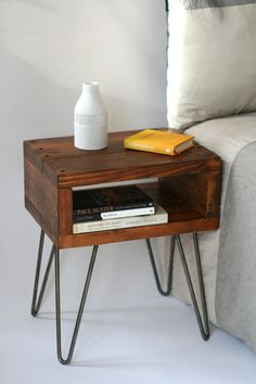 This table is full of character and charm yet functional and versatile, making a great side table or even a bedside table. It has been made