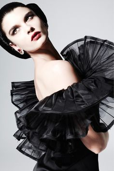 "a glimpse of glamour.: ♥ ""fashion is a thrill."" ~ zac posen."