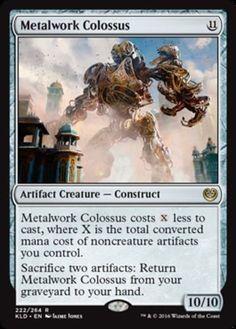 Metalwork Colossus FOIL Kaladesh Magic the Gathering card