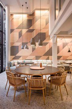 403030 Healthy Kitchen | @purquiola #restaurant #tiles #restaurantdesign