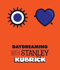 Barnbrook Studios creates identity for Kubrick exhibition at Somerset House.