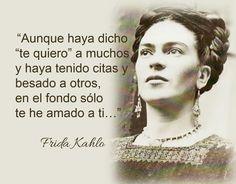 Lecciones para amar: Frases célebres de Frida Kahlo