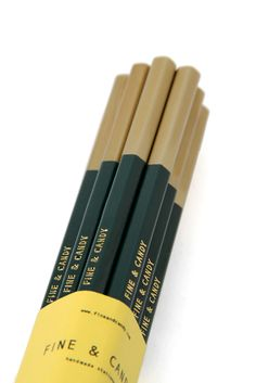 Forest Green Pencils - fineandcandy.com