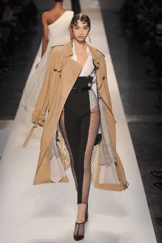 Jean Paul Gaultier Spring 2009 Couture Fashion Show - Alexandra Agoston